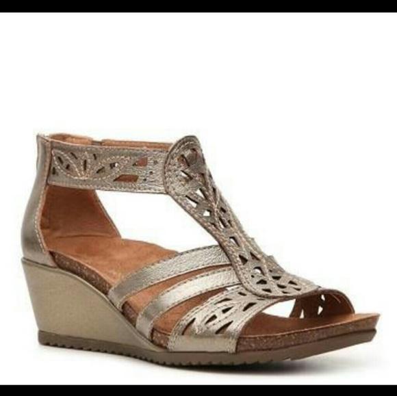 af4ee0d44bc Earth Origins Shoes - Earth Origins Kingsley Gladiator Wedge Sandal